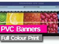 full colour digital printed banners, vinyl promotional banners,birthdays,party